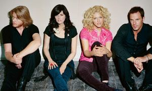 Little big town the country vocal quartet little big town began with